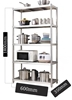 Five layer stainless steel shelf