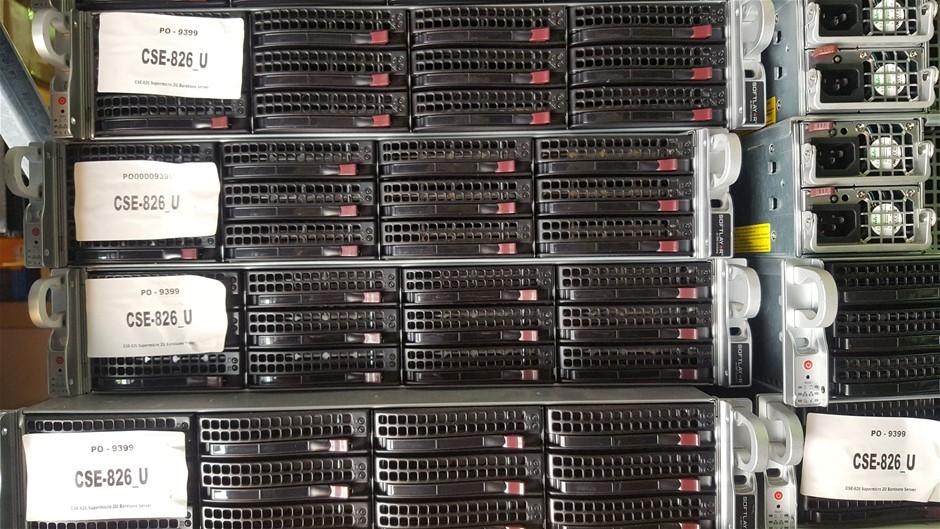 Supermicro 2U-E5-V2CPU CSE-826 M/brd X9Dri-LN4F+ SERVER