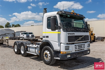 1999 Volvo FM12 6 x 4 Cab Chassis Truck