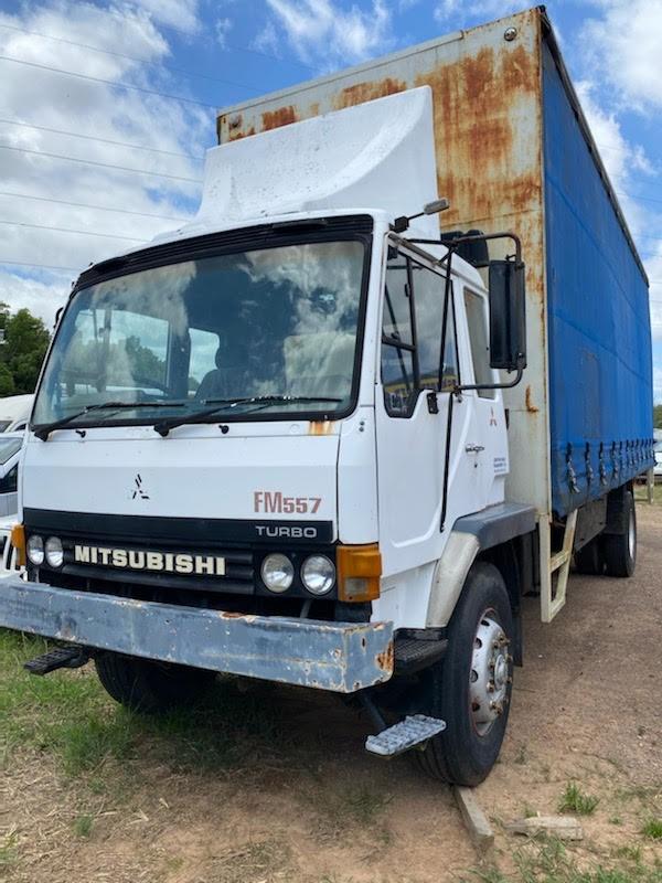 Mitsubishi FMS57 4 x 2 Curtainsider Rigid Truck