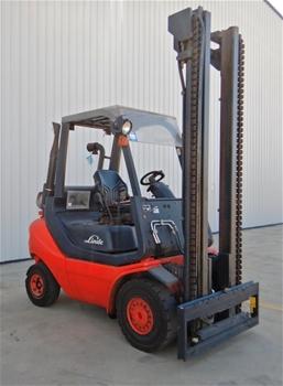 2011 Linde H25 4 Wheel Counterbalance Forklift