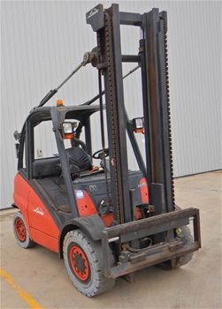 2006 Linde H45T 4 Wheel Counterbalance Forklift