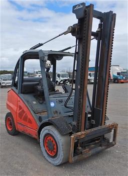 2011 Linde H45-T01 4 Wheel Counterbalance Forklift