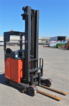 2007 Linde R16N-03 Ride on Reach Truck