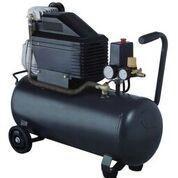 Leading Retail Brand 30L Air Compressor w/ 1500W Electric Motor, Dual Gauge