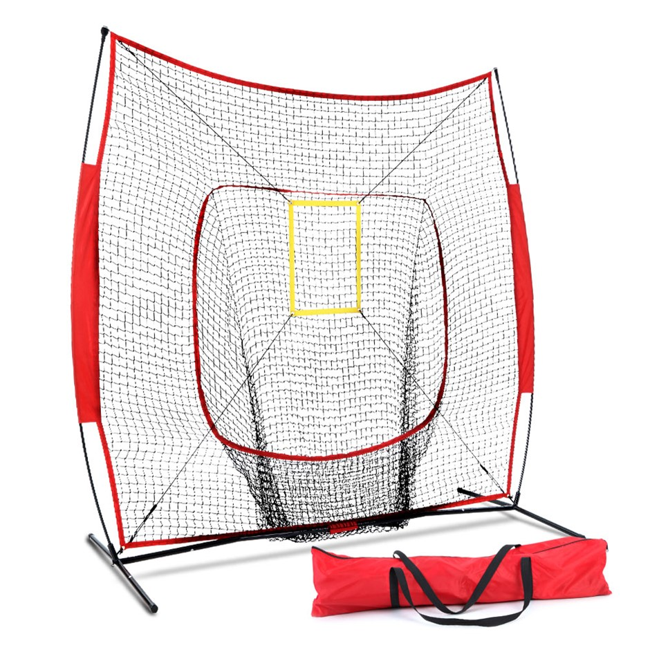Everfit Portable Baseball Softball Practice Sport Tennis Training Net Stand