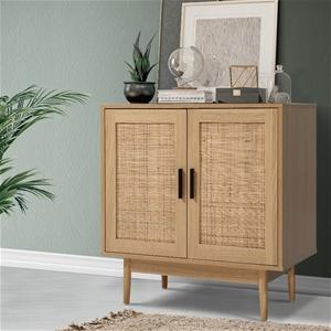 Artiss Rattan Buffet Sideboard Cabinet H