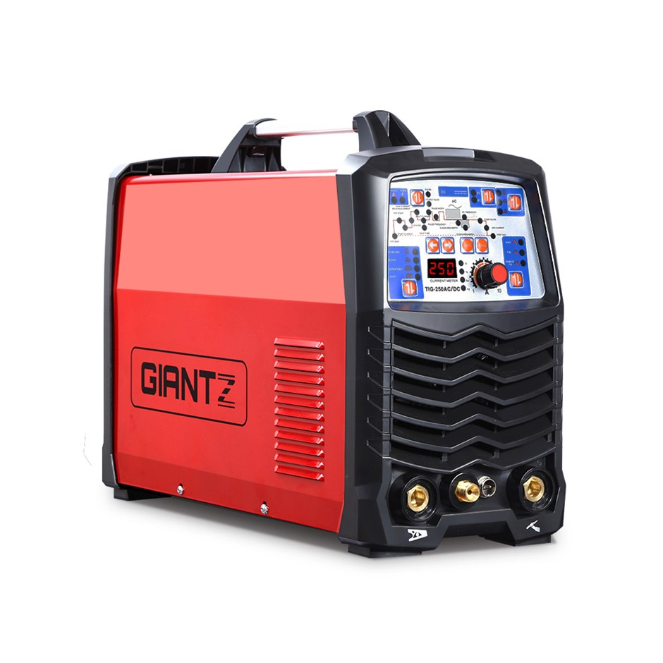 Giantz 250Amp Inverter Welder AC/DC Pulse TIG MMA Aluminum Welding Stick