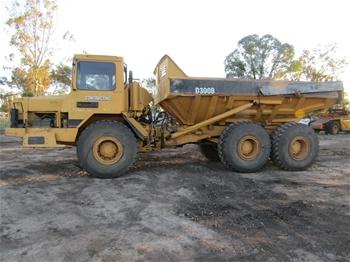 CAT D300B Articulated Dump Truck