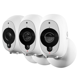 SWANN 3pk Smart Security Camera Wire-Fre