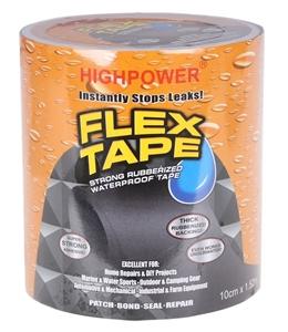 4 x FLEX TAPE Rubberised Waterproof Seal