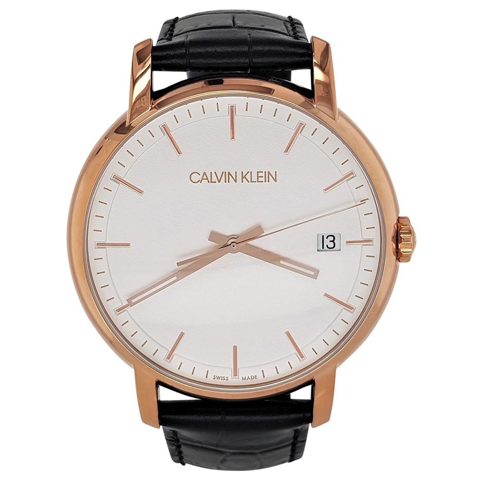 Calvin KleinMinimal Quartz Silver Dial Men's Watch