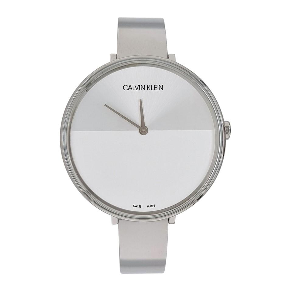Calvin KleinRise Quartz Silver and White Dial Ladies Watch