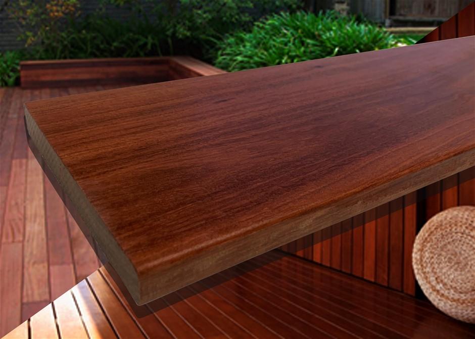 20.79m² of Queensland Red Ironbark Hardwood Decking - 135mm x 19mm