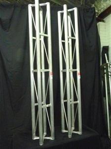 Qty 2 x Aluminium MEC Truss Columns