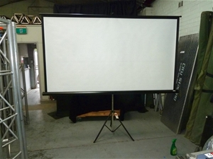 Nova Video Screen with Tripod support