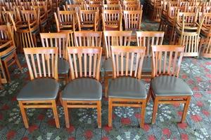 Set of 8 Dining Chairs (BID PRICE PER EA