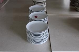 Approx 40 Ceramic Plates (BID PRICE PER
