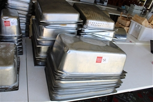 Large Sized Bain-Marie Trays