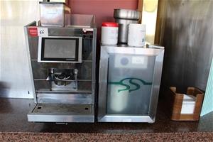 Black&White3 Coffee Machine & Milk Fridg