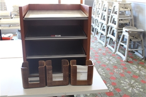 Display Stand & Dispensers