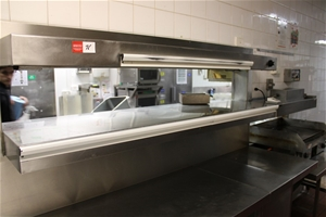Heated Pass Through Dining System