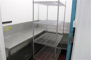 S/Steel Bench Top & Shelf