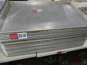 Qty 20 x Aluminium Baking Trays