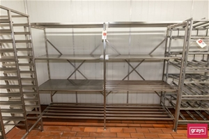 Two Bay Coolroom Rack