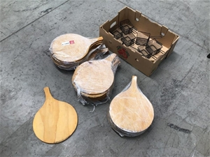 Pizza Paddles and Wire Baskets