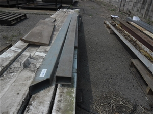 2 Lengths of Steel RHS - 125 x 75mm