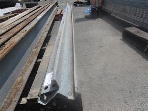 5 Lengths of Steel Z Purlins
