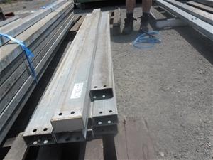 10 Lengths of Steel RHS 100x50