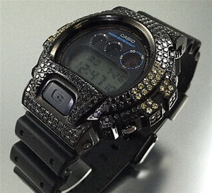 3d750082fae8 Buy Black G-Shock Ice Iced Out Watch - Crystal - CZ Diamond ...