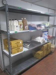 Quantity of 2x Shelf Units