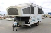 Unreserved Caravan Jayco Dove 1995 with Full Annex Licensed