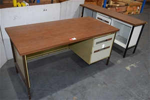 Metalux (Original) Two Drawer Desk with