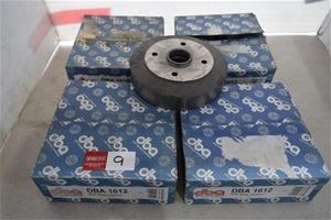 Lot of 4 DBA Model 1612 Standard Brake D
