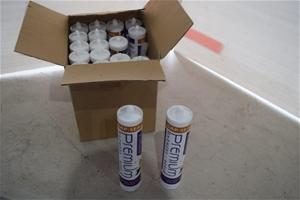 """Carton of 16 Tubes """"Gap Seal"""" Acrylic Se"""
