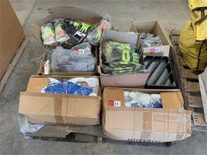 Pallet of Assorted safety Equipment