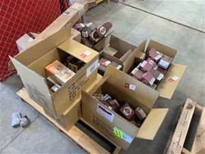 Pallet of Assorted Nuts, Bolts and Washe