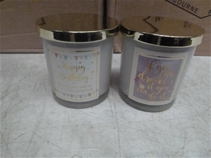 48x Scented Candles
