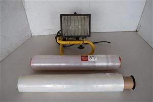 Part Rolls of Commercial Cling Wrap