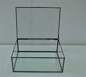 23 x Mezzai Glass Box with flip top lid