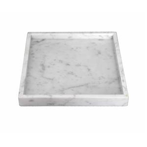 GLOBEWEST Jasper Square Marble Tray