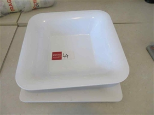 2 x Plater Serving Trays and Salad Bowl