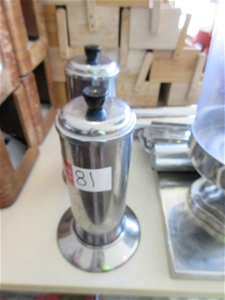 2 x Stainless Steel Straw Dispensers