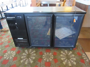 1 x Skope 2 Door Bar Fridge