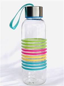 3 x Sports Drink Bottle 500ml Clear plas