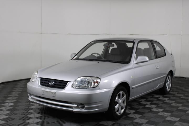 2003 Hyundai Accent 1.6 LS Auto Hatch 20,233 km's(Service History)